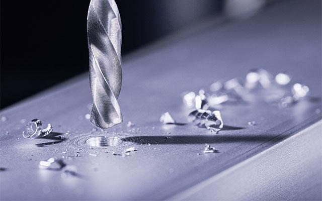 Aluminium bohren