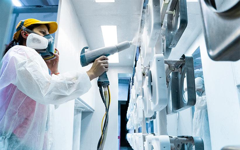 Oberflächenbehandlung von Metallen – ideal, um Werkstücke vor Korrosion zu schützen